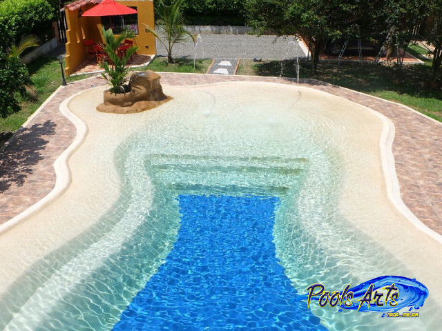 Galeria4 piscina arena pools arts construcci n de for Arena para piscinas